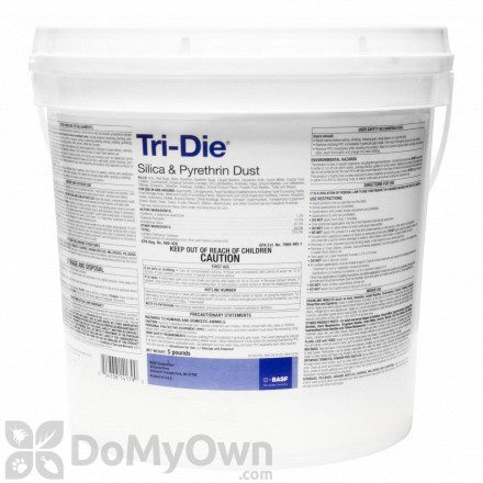 Tri-Die Silica & Pyrethrum Dust