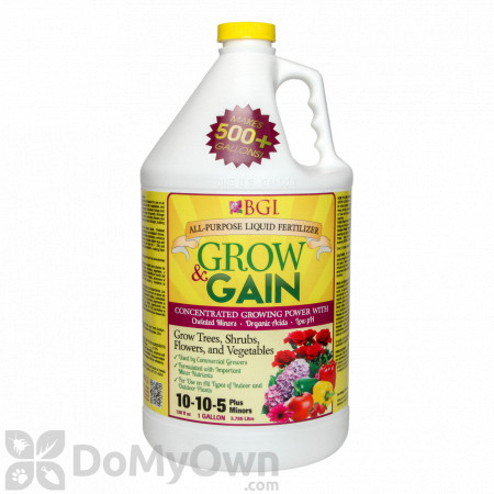 Grow & Gain All Purpose Liquid Fertilizer 10-10-5
