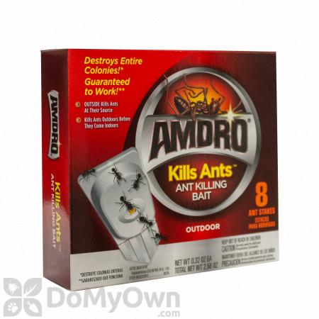 Amdro Kills Ants Stakes - Ant Killing Bait