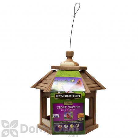 Pennington Ultra Cedar Gazebo Bird Feeder