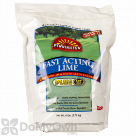 Can Pennington Fast Acting Lime be used in a Gandy 10-T series drop