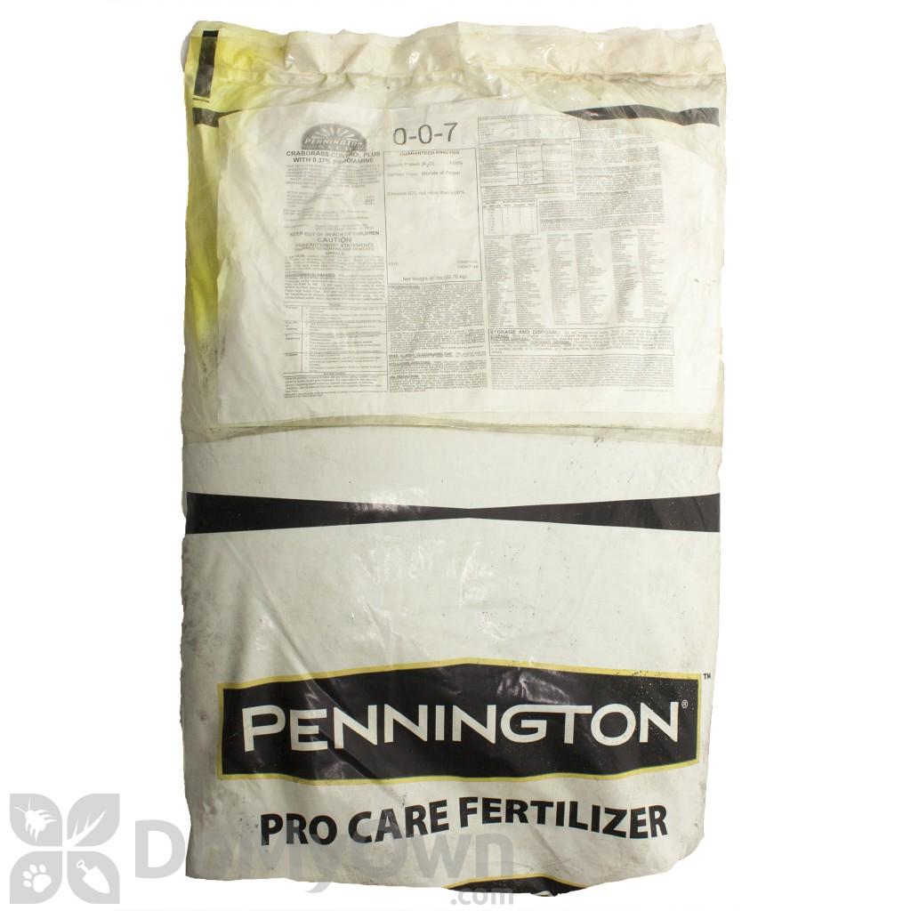 Pennington Pro Care Crabgrass Control Plus  37 Prodiamine 0-0-7 Turf  Fertilizer