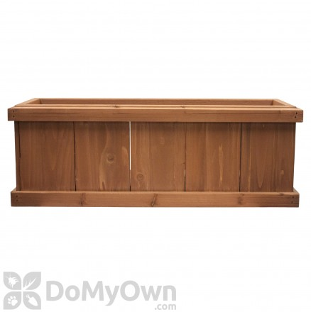 Pennington Rustic Planter Box Heartwood
