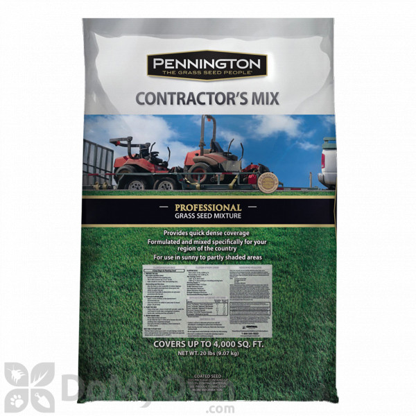 Pennington Professional Contractors Penkoted Gr Seed Mixture 20