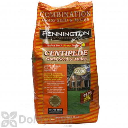Pennington Centipede Grass Seed with Mulch