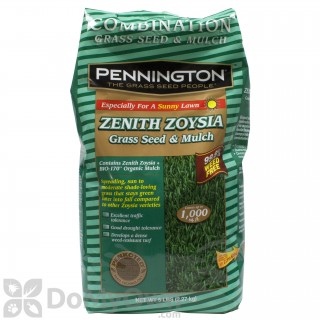 Quick View Pennington Zenith Zoysia Gr Seed With Mulch