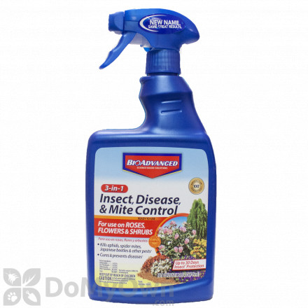 Bio Advanced 3 in 1 Insect Disease & Mite Control RTU
