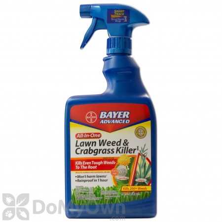Bayer Advanced All In One Lawn Weed & Crabgrass Killer RTU