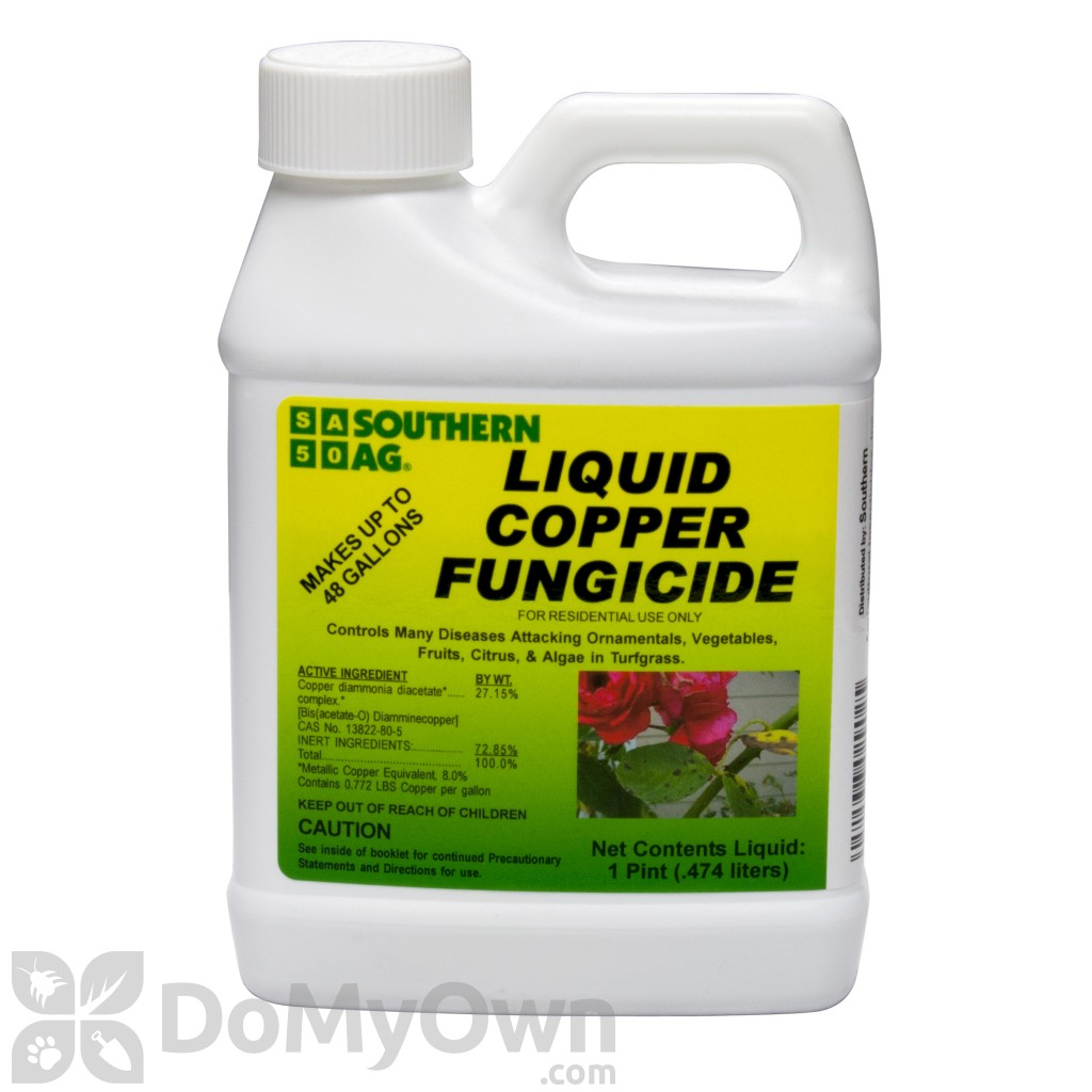 Southern Ag Liquid Copper Fungicide Lawn Disease Control