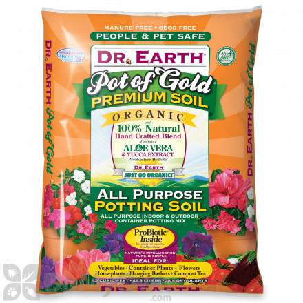 Dr Earth Pot Of Gold All Purpose Organic Potting Soil