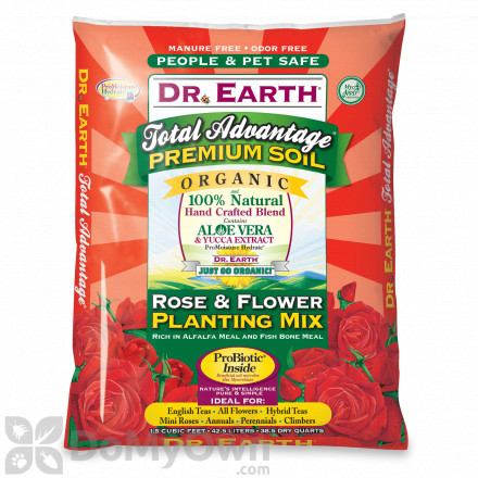 Dr Earth Total Advantage Organic Rose & Floral Planting Mix