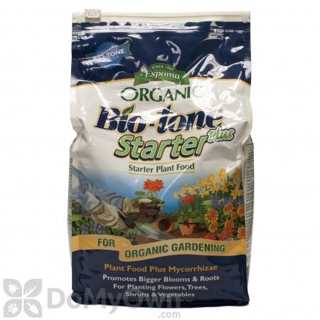 Espoma Organic Bio-Tone Starter Plus Plant Food 4-3-3