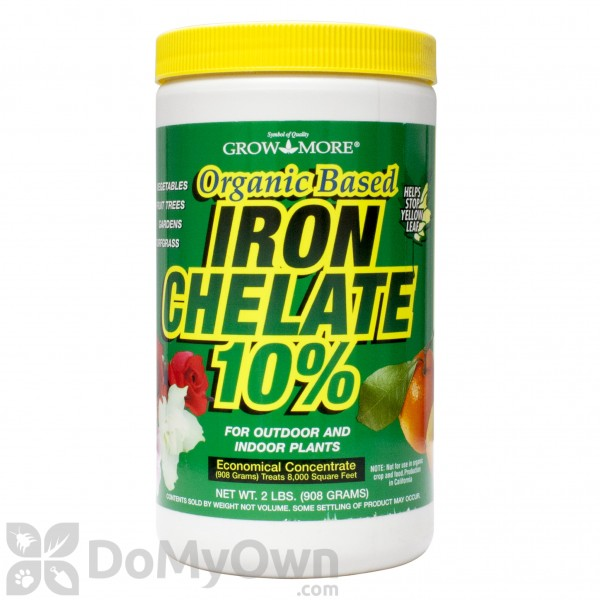 Grow More Organic Iron Chelate 10% Fertilizer