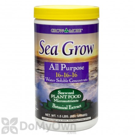 Grow More Sea Grow All Purpose Plant Food 16-16-16