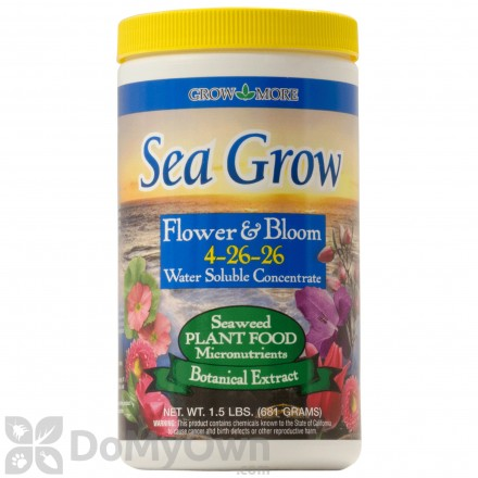 Grow More Sea Grow Plant Food 4-26-26