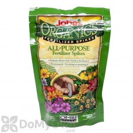 Jobe\'s Organics All Purpose Spikes 4-4-4 (50 Pack)