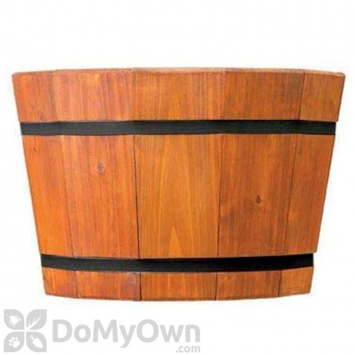 Matthews Four Seasons Shallow Barrel Tub Heartwood