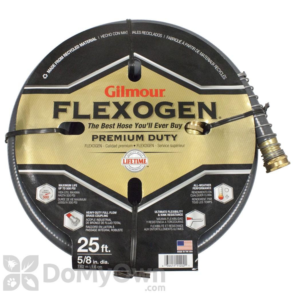 Gilmour Flexogen Premium Garden Hose 58 in x 25 ft 1058025