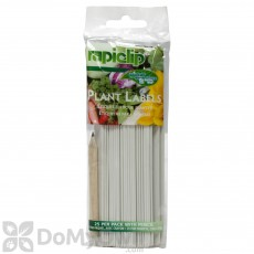 Luster Leaf Rapiclip Plant Labels With Pencil (25 pack)