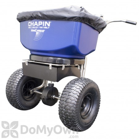 Chapin Professional Stainless SureSpread Salt/Ice Melt Broadcast Spreader 100 lb (82108)
