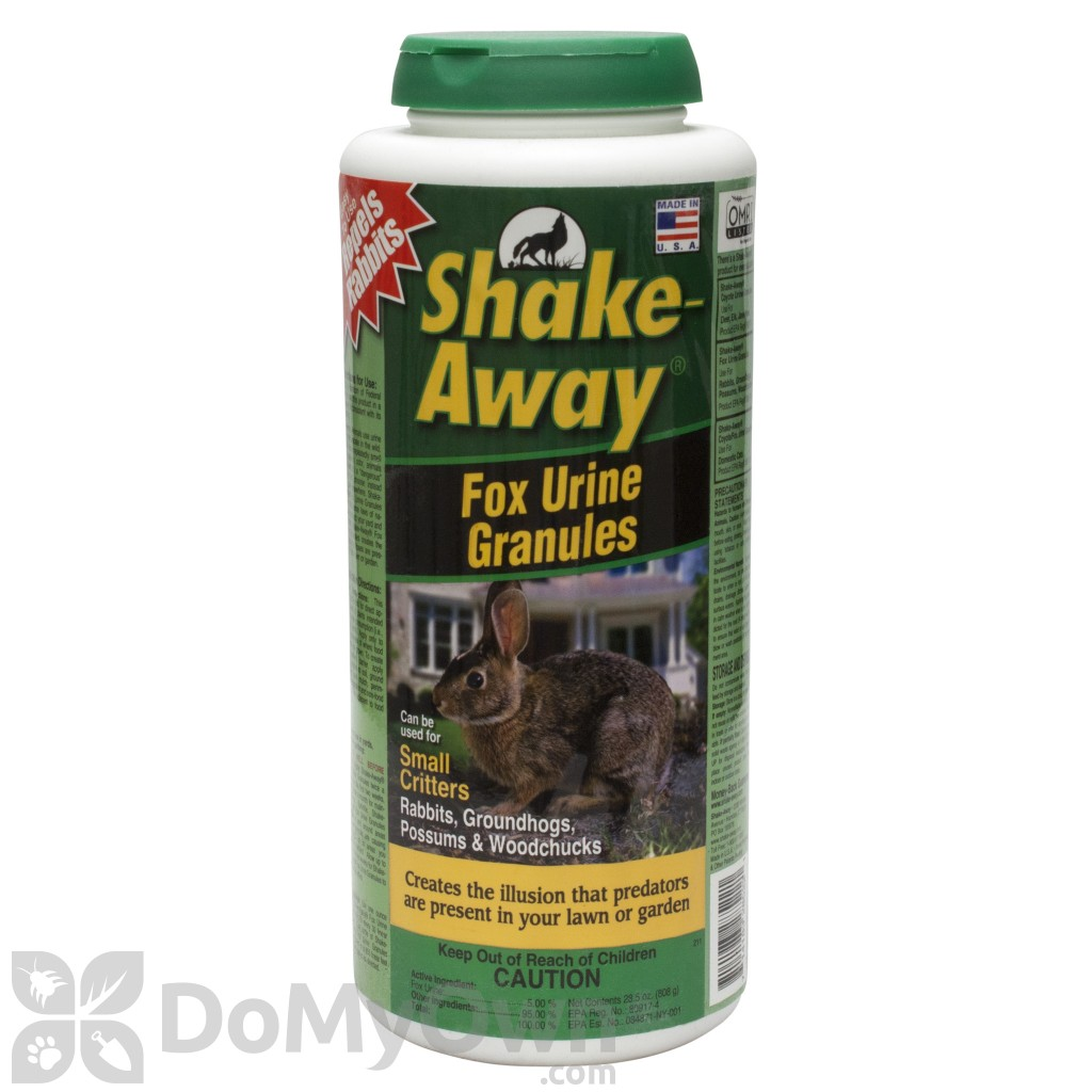 Shake Away Fox Urine Granules Critter Repellent 2852228