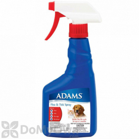 Adams Flea and Tick Spray for Dogs and Cats