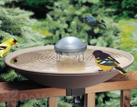 Solar Powered & Solar Heated Bird Bath Fountains & Bowls | DoMyOwn com