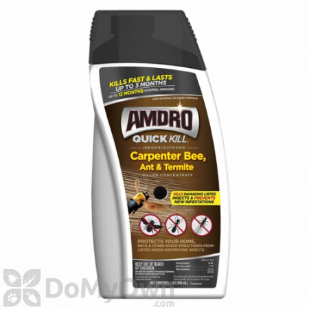 Amdro Quick Kill Carpenter Bee Ant and Termite Killer Concentrate