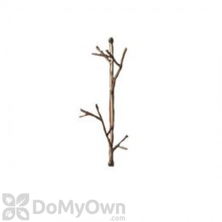 Ancient Graffiti Twig Wire Hook Double (AG1022)