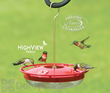 Aspects HummZinger High View Hummingbird Feeder 12 oz. (429)