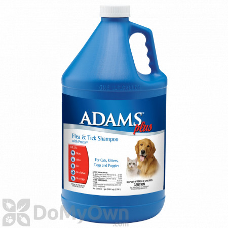 Adams Plus Flea And Tick Shampoo With Precor