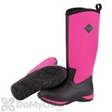 Muck Boots Arctic Adventure Women\'s Black / Hot Pink Boot - Women\'s 10