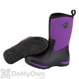 Muck Boots Arctic Weekend Women\'s Black / Purple Boot - Women\'s 9