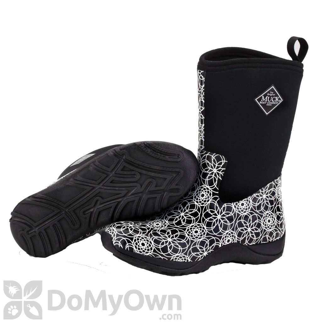muck boots arctic weekend womens swirl print boot