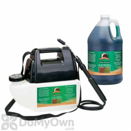 Bare Ground Just Scentsational Green Up Grass Colorant with Battery Powered Gallon Sprayer