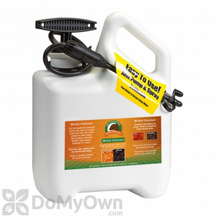 Bare Ground Just Scentsational Bark Mulch Colorant with One Gallon Preloaded Pump Sprayer