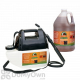 Bare Ground Just Scentsational Bark Mulch Colorant with Battery Powered Gallon Sprayer - Brown