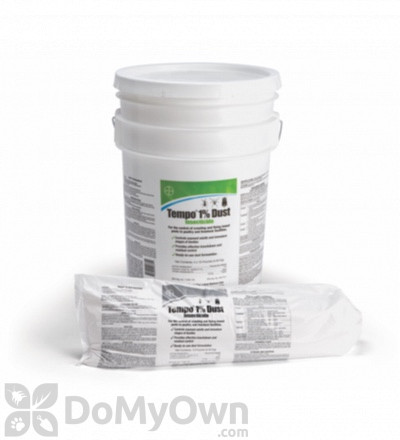 Bayer Tempo 1% Dust Pail (4 x 10 lb sleeves)