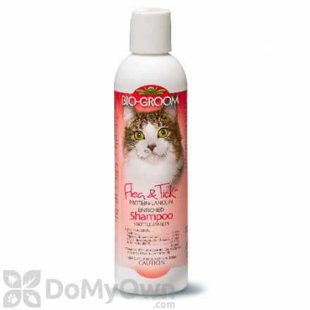 Bio - Groom Flea and Tick Cat Shampoo
