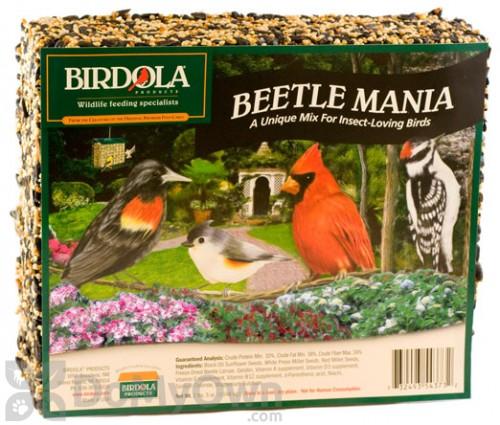 Birdola Products Beetle Mania Bird Seed Cake 54373