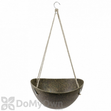 Bloem Eco Modern Hanging Basket Planter Bowl Pot