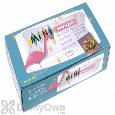 Bloem Mini Pink Mingo 13 inches Flamingo Garden Stake (2 Pack)