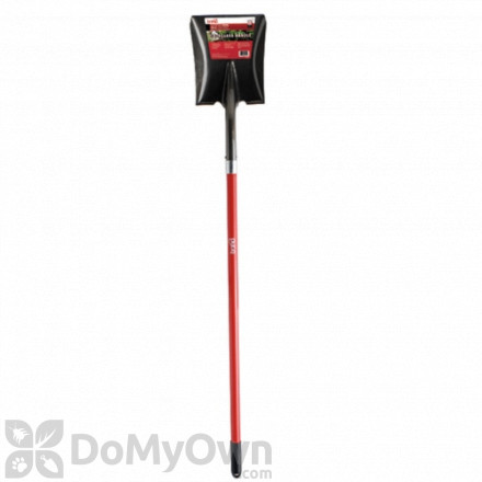 Bond Long Handle Fiberglass Square Point Shovel