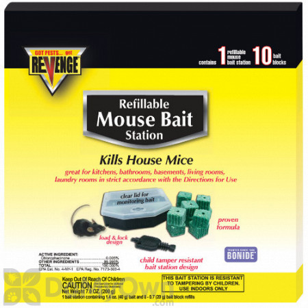 Revenge Refillable Mouse Bait Station