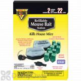 Revenge Refillable Mouse Bait Station 22 pack