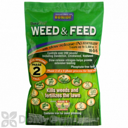 Bonide DuraTurf Weed and Feed 16 - 0 - 8