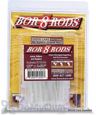 "Bor8 Rods 1/3"" x 2 5/8"""