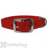 Boss Pet PDQ 1 in. x 18 in. Double Nylon Collar - Red