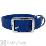 Boss Pet PDQ 1 in. x 18 in. Double Nylon Collar - Blue