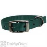 Boss Pet PDQ 1 in. x 18 in. Double Nylon Collar - Green